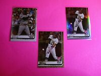 LOT (3) 2019 Topps Update SPs JOSH BELL Pirates  GOLD, Holo, 150th stamp