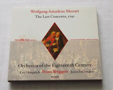 BRUGGEN / MOZART The Last concerto,1791 EUROPE digipack CD GLOSSA (2002) NMINT