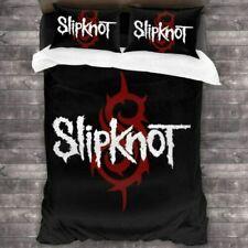 Slipknot 3D Design Bedding Set 3PC Of Duvet Cover Pillowcase Single Double King