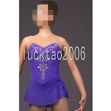 2018 new style Figure Skating Costume Ice Skating Dress Sparkle 8846