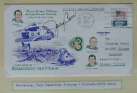 s1465) Raumfahrt Splashdown Skylab 4 Beleg CC 8.2.1974 Autogramm Jerry Carr