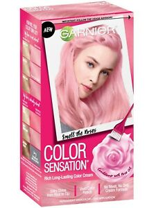 Garnier Color Sensation Hair Color Cream Smell The Roses 9.20 Light Pink