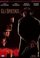 GLI SPIETATI DI CLINT EASTWOOD (DVD) NUOVO, ITALIANO, ORIGINALE