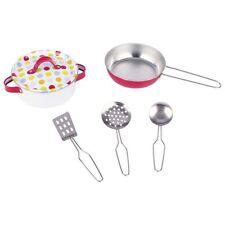 Set de Cocina para Niños Vajilla Utensilios Kochset Puntitos 6-teilig 51595 Goki