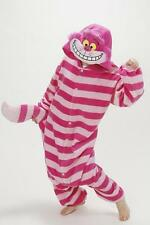 Animal Unisex Cheshire Cat Ones-ie Kigurumi Fancy Dress Costume Hoodies Pajamas.