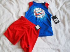 Nike Boys Size 4 (XS) 2 Piece Outfit, Top/Shorts
