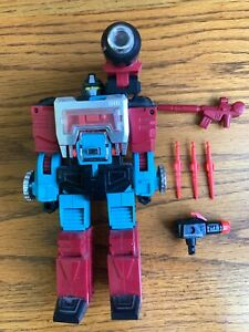 Vintage 1985 Hasbro Transformers G1 PERCEPTOR Figure Complete