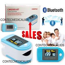 Contec CMS50D-BT OLED Finger Tip Pulse Oximeter Bluetooth APP Analysis SPO2 PR
