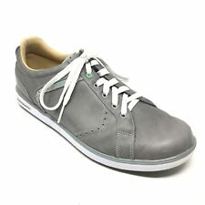 8516221fe501fb Men's Ashworth Spikeless Golf Shoes Sneakers Size 11M Gray White Leather Y12