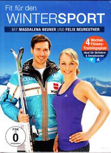 DVD : FIT FÜR DEN WINTERSPORT - MIT MAGDALENA NEUNER UND FELIX NEUREUTHER-NEUW