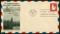 #UC25 6c FIPEX, Fleetwood FDC **ANY 4=FREE SHIPPING**