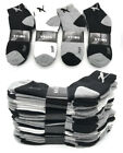 New 3-12 Pairs Mens Ankle Quarter Crew Sports Socks Low Cut Cotton Size 9 -13