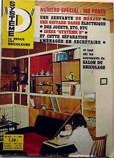 SYSTEME D 1967: GUITARE BASSE_SERVANTE DE MENAGE_nouveautés salon du BRICOLAGE