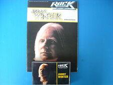JOHNNY WINTER  MUSICASSETTA K7 TAPE++BOOK STORIA DEL ROCK