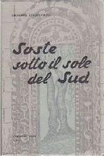 SOSTE SOTTO IL SOLE DEL SUD di Giuseppe Lucatuorto