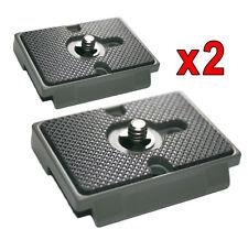 2 placas de liberación rápida-Manfrotto Qr 200pl-14 Fitting-Nuevo Diseño Ligero