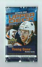 2020-21 UD Series 1 Upper Deck Hockey 1 Pack Retail  8 Cards per Pack