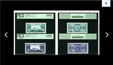 TWO NOTES PCGS 67 & PCGS 65 Memphis, TN- 35th Annual International Paper Money