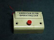 American Flyer Trains White Operating Car Button Original Rare