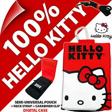 Hello Kitty Teléfono Estuche Petaca Bolso Para iPhone 3GS 4 4S 5 5S SE Samsung Galaxy S2