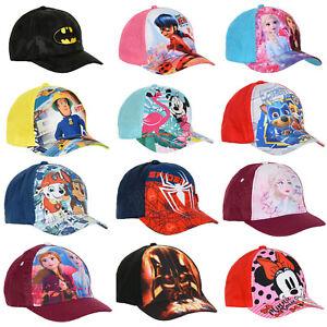 Kinder Basecap Baseball Kappe Mütze Cap Hut Mädchen Jungen NEU Disney Paw Patrol