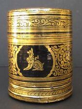 Ancienne Boîte laqué Birmanie