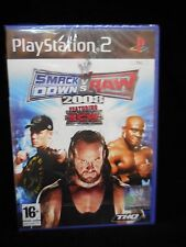 SmackDown vs. Raw 2008 para playstation 2 Pal Nuevo y precintado