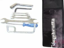 Lambretta Handy Tool Kit 7 Piece & Black Woven Pouch Jack Spanners Etc. CDN