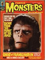 Famous Monsters Of Filmland #85-1971 vg- 3.5 Escape From The Planet Of The Apes