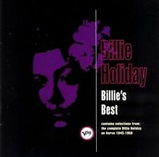 Billie's Best by Billie Holiday (Cassette, May-1992, Verve)