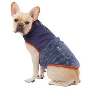 NWT Top Paw Dog Coat Jacket Size XLarge XL Fleece Blue Orange Reflective - NEW!