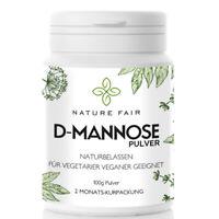 D-Mannose Pulver 100g Gratis Dosierlöffel hergestellt in Deutschland vegan