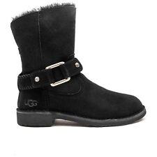 UGG Australia Women's Cedric Biker Boot Black Size 5 - NEW $195