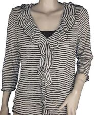 Marks and Spencer Striped V Neck Long Sleeve Women's Tops & Shirts