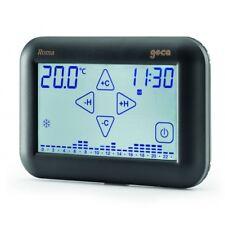 Cronotermostato Touch Screen ad incasso antracite ROMA - GECA 33212558