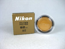 Nikon 52mm A12 Filter with Case and Box