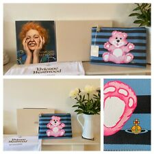 Brand new GORGEOUS VIVIENNE WESTWOOD  Large Teddy bear Pouch RRP£280