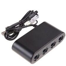 GameCube Controlador Adaptador para Nintendo Switch Consolas con 4 puertos