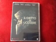 IL DIRITTO DI UCCIDERE (2016)  DVD