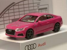 Herpa Audi A5, pink, 24. Börse Ingolstadt 2017, lim. 666 Stück - 1/87