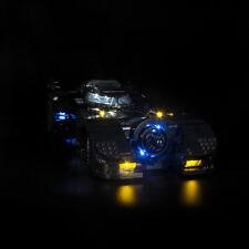 led Light Kit For LEGO 76139 1989 Batmobile car Super Heroes lighting building