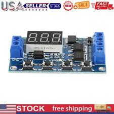 Hw 516 Dc 12v 24v Led Time Delay Relay Trigger Cycle Timer Switch Module