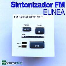 EUNEA UNICA U3.583.18  Sintonizador FM Blanco POLAR