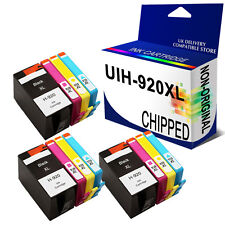 12 Ink Cartridge Unbrand Fits for hp 920XL Officejet 7000A 7500A E609n 6500A