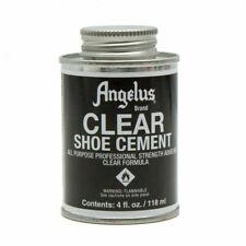 Angelus Clear Shoe Cement Glue 4oz