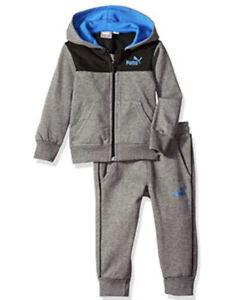 PUMA Little Boys 2-Pcs Fleece Set (4years -7 years)