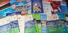 English Home Teams C-E Written - on Football Programmes
