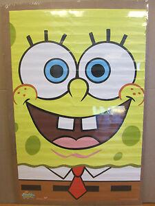vintage 2002 Spongebob Squarepants Portrait cartoon poster   5773