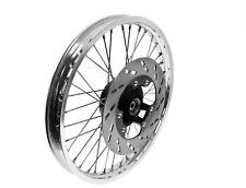 Speichenrad komplett Scheibenbremse ETZ 125 150 250 251 Alu  Edelstahl Vorderrad