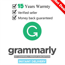 Grammarly.Instant Grammar Checker ✔️Lifetime Premium Account [Fast Delivery] ✔️